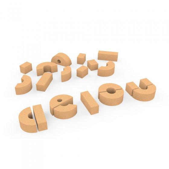 Elou Cork Basic Vowels