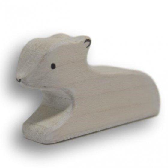 Eric & Albert's White Lamb Lying Down