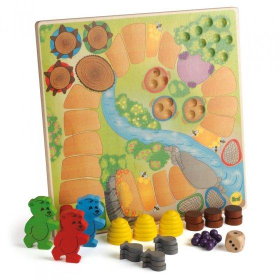 Erzi Honey Bears In Hibernation Game