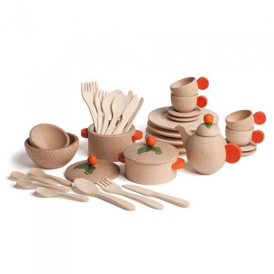 Erzi Natural Dishes Set
