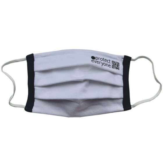 Ecoliving Organic Cotton 3 Layer Face Mask