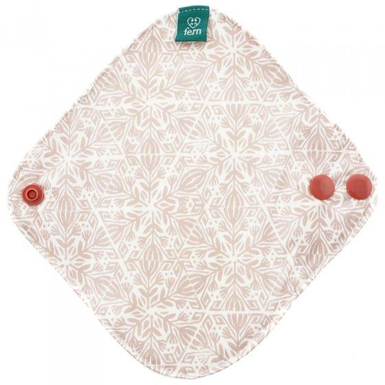 Fern Light Menstrual Pad - Pink Geometric