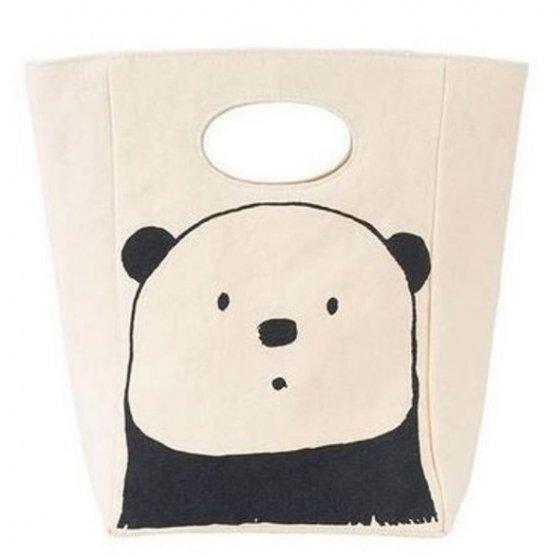 Fluf Classic Organic Lunch Bag - Panda