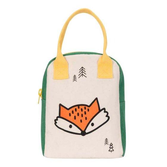Fluf Zipper Lunch Bag - Fox
