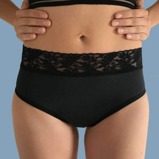 FLUX Bikini Period Pants Full Absorbency - Black