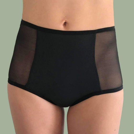 FLUX Hi-Waist Period Pants Light - Black