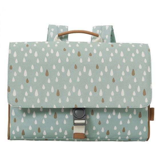 Fresk Blue Drops School Bag