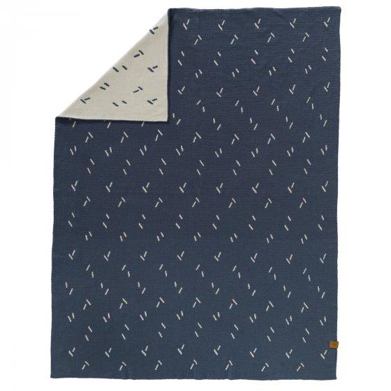 Fresk Diagonals Knitted Blanket 80 x 100cm