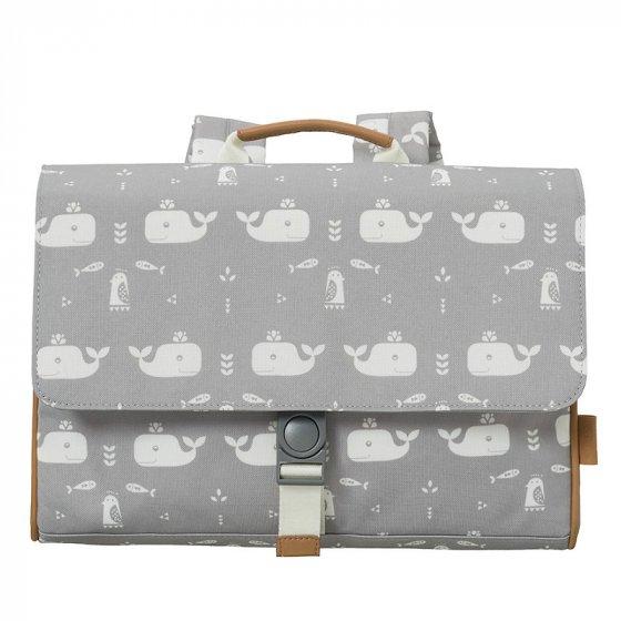 Fresk Grey Whale School Bag