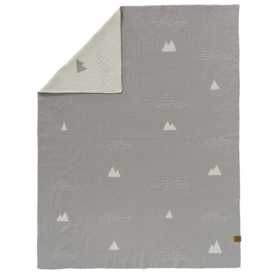 Fresk Ice Mountain Knitted Blanket 80 x 100cm