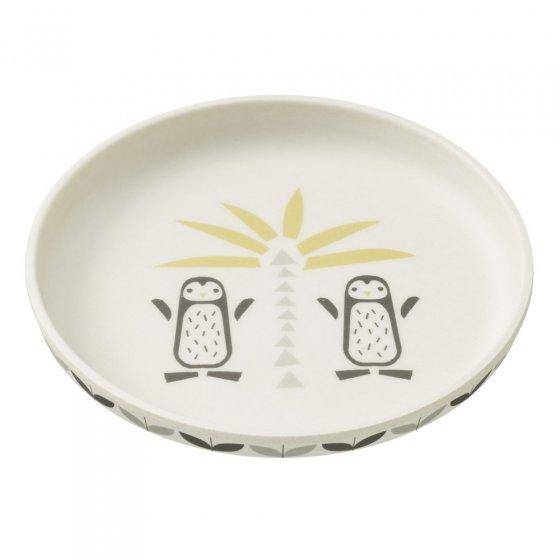 Fresk Penguin Bamboo Plate