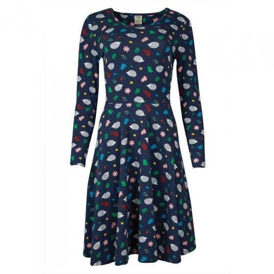 Frugi Adult Grown Up Hedgehogs Sofia Skater Dress