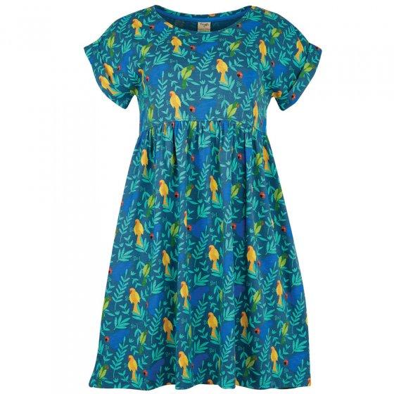 Frugi Adult Indian Parakeets Callie Slub Dress