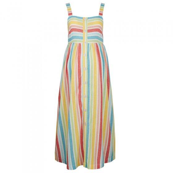 Frugi Adult Rainbow Stripe Sammy Sun Dress