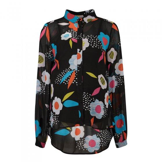 Frugi Adult River Flower Georgette Maternity & Nursing Shirt