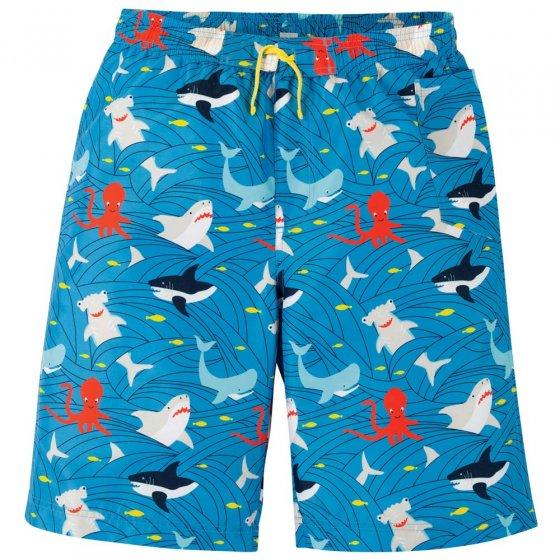 Frugi Adult Shark Board Shorts
