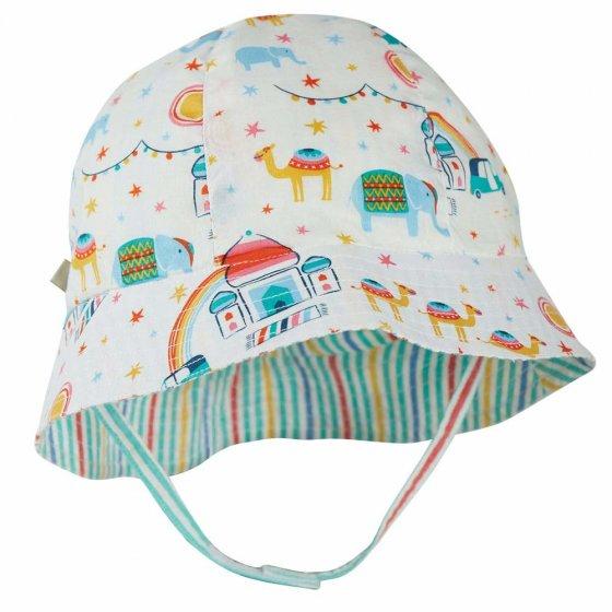 Frugi At The Taj Reversible Hazy Hat