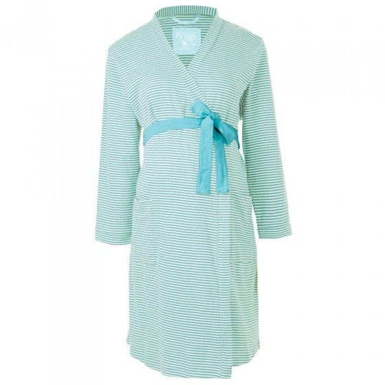 Frugi Bloom Blue Ginny Pointelle Robe