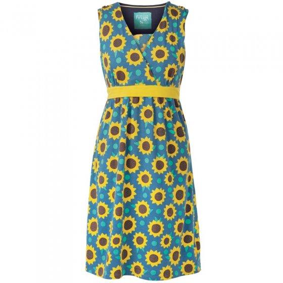 Frugi Bloom Sunflowers Summer Tie Dress