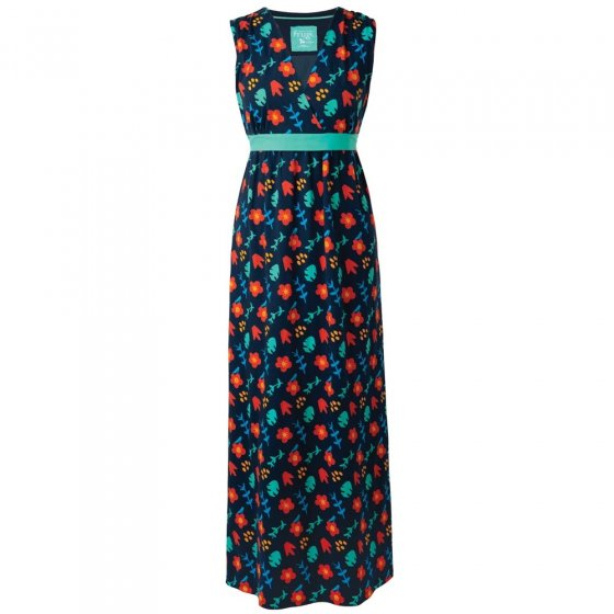 Frugi Bloom Floral Summer Maxi Dress