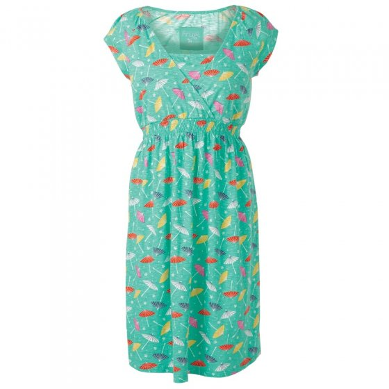Frugi Bloom Parasols Spring Smocked Dress