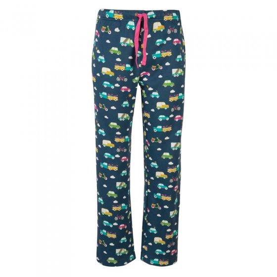 Frugi Rainbow Roads Pansy Pyjama Bottoms