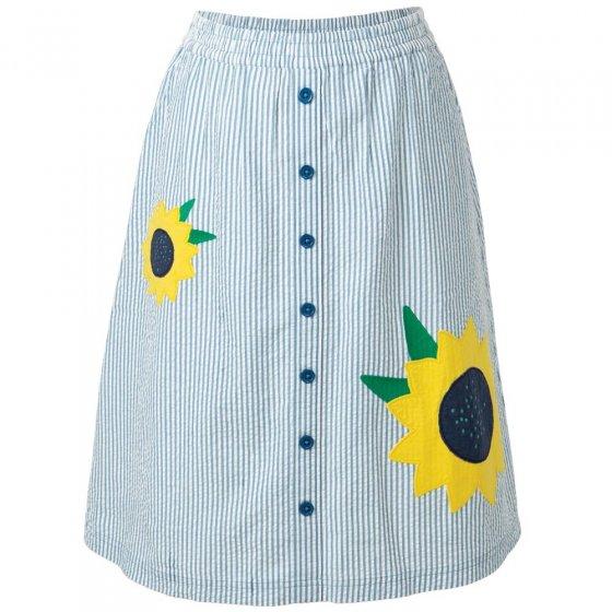 Frugi Adult Seersucker Stripe Sorrel Skirt