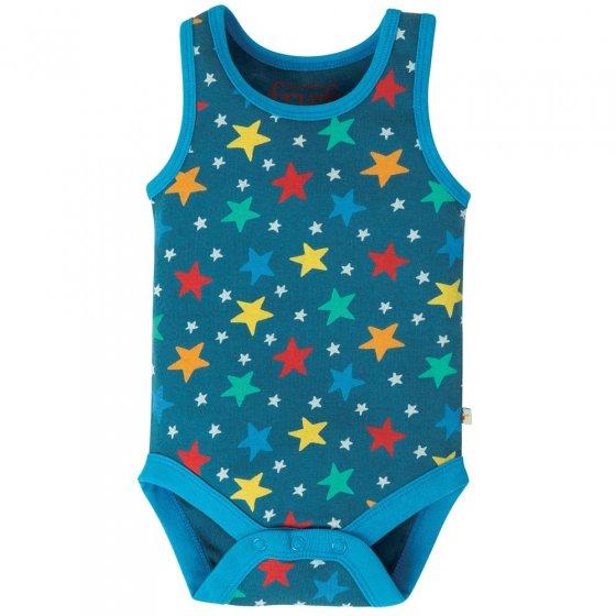 Frugi Blue Multi Star Rosen Body