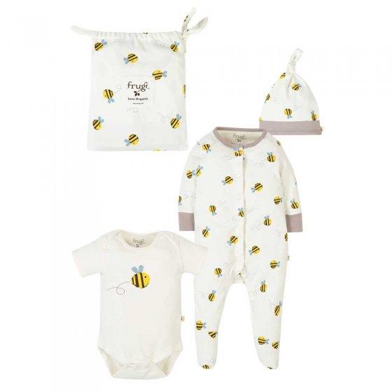 Frugi Buzzy Bee Baby Gift Set