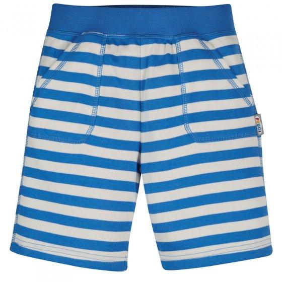 Frugi Cobalt Blue Stipe Favourite Shorts