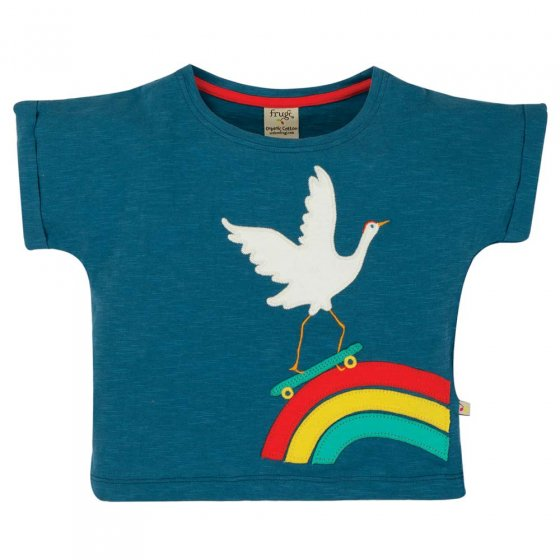 Frugi Crane Sophia Slub T-Shirt