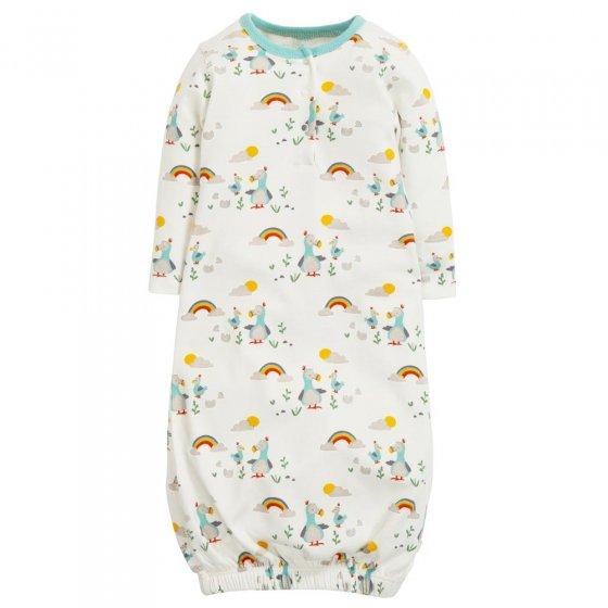 Frugi Delightful Dodos Sleepy Baby Gown