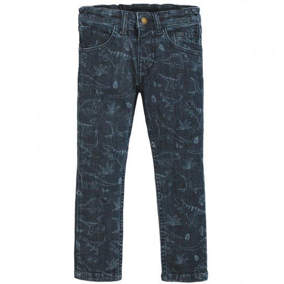 Frugi Denim Dino Jordan Printed Jeans