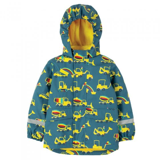 Frugi Dig A Rainbow Puddle Buster Coat