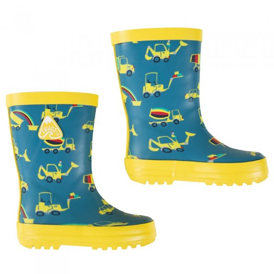 Frugi Dig A Rainbow Puddle Buster Wellies
