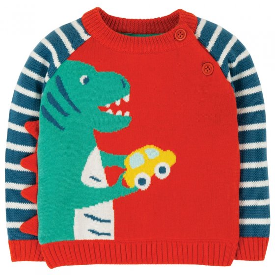 Frugi Dino Knitted Wilfred Jumper