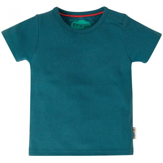 Frugi Favourite Steely Blue T-Shirt
