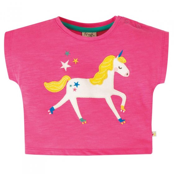Frugi Flamingo Unicorn Sophia Sub T-Shirt