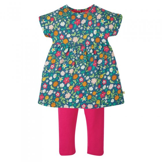 Frugi Flower Valley Olivia Outfit