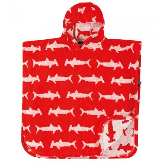 Frugi Hammerhead Sharks Little Childrens Hooded Towel