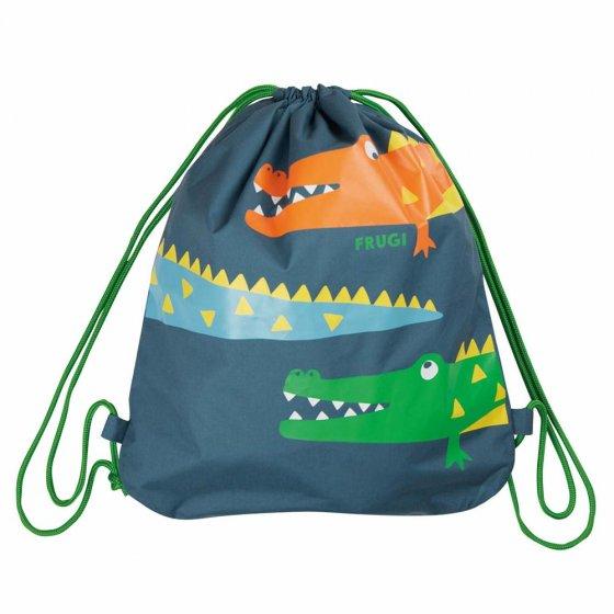 Frugi India Ink Crocs Swashbuckler Swim Bag
