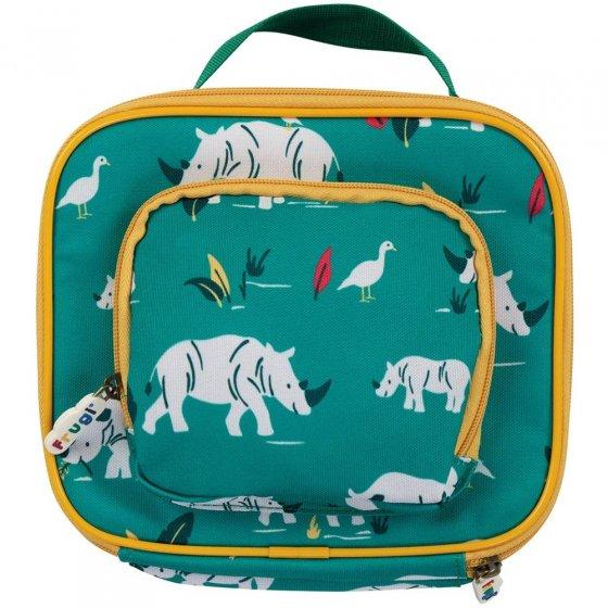 Frugi Rhino Ramble Pack A Snack Lunch Bag