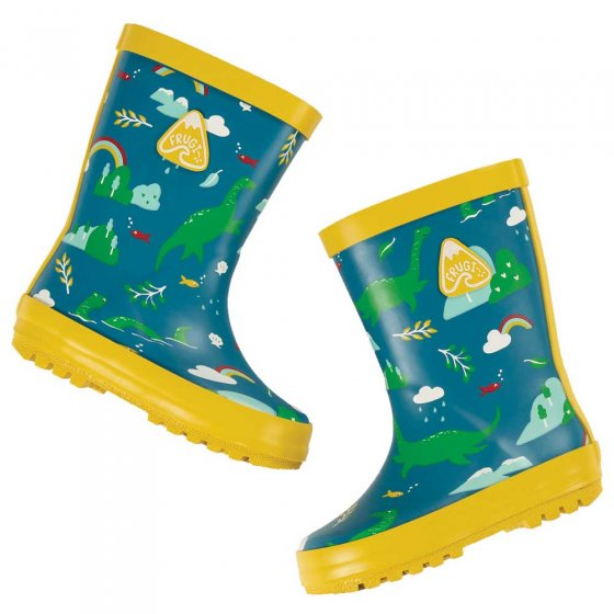 Frugi Loch Blue Nessie Puddle Buster Welly Boots