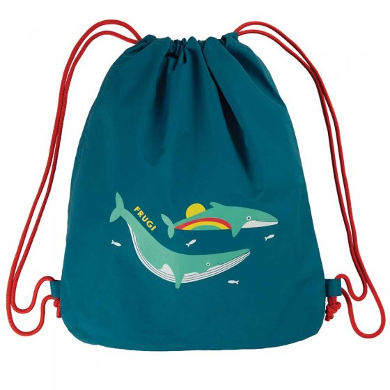 Frugi Loch Blue Whale Swashbuckler Swim Bag