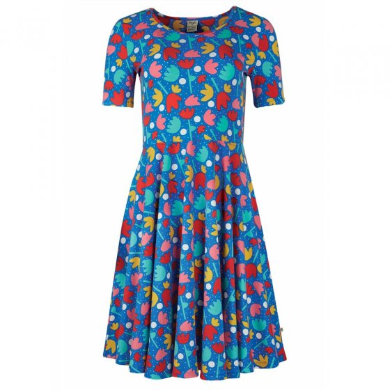 Frugi Lotus Bloom Grown Ups Skater Dress