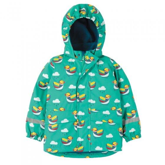 Frugi Mandarin Ducks Puddle Buster Coat