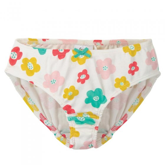 Frugi Multi Floral Polly Printed Briefs