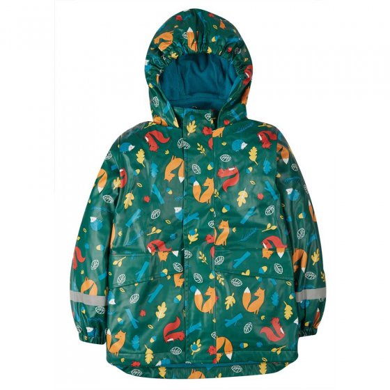 Frugi National Trust Pine Wood Puddle Buster Coat