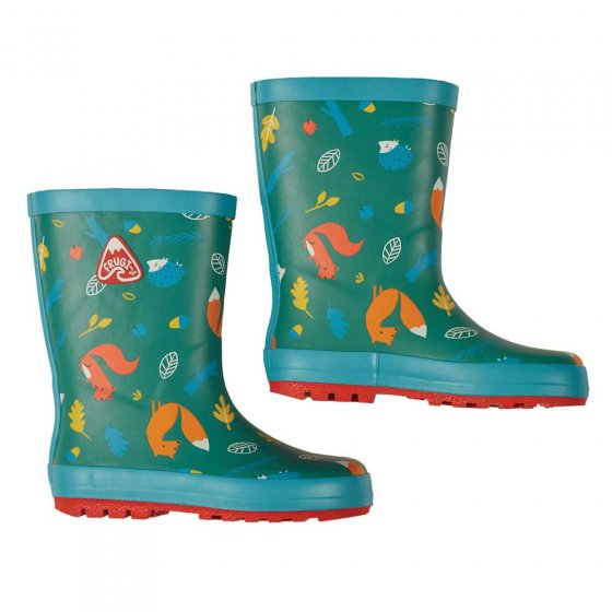 Frugi National Trust Pine Wood Puddle Buster Welly Boots