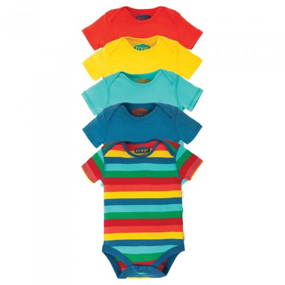 Frugi Over The Rainbow Body 5 Pack